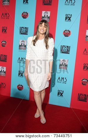 LOS ANGELES - OCT 5:  Amanda Peet at the