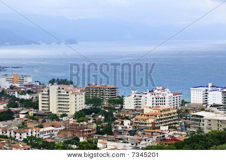 Cityscape In Puerto Vallarta, Mexico