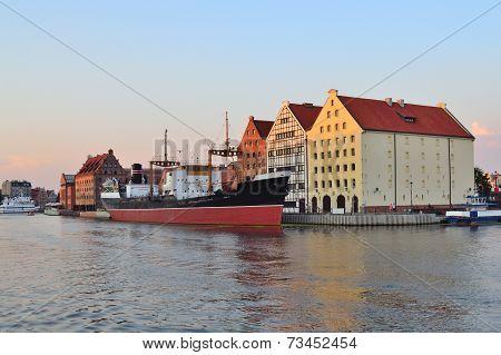 Gdansk At Twilight