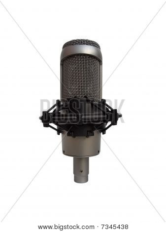 Micrófono Vocal de estudio aislado