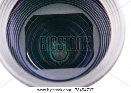 Detail Of Camera Lense