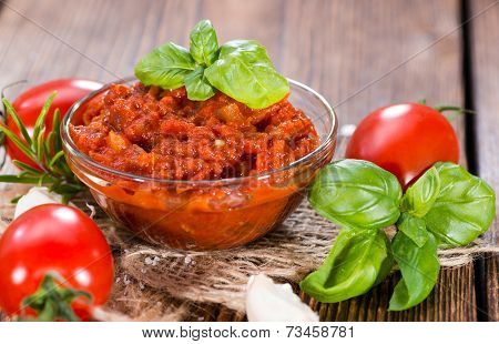 Fresh Made Tomato Sauce