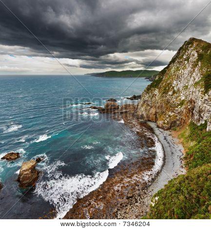 Coastal View, New Zealand