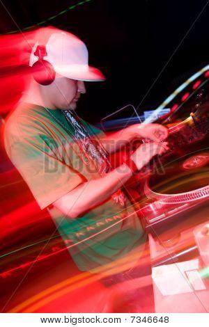 DJ mixing-Musik