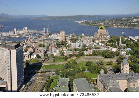 Quebec City in summer, Canada