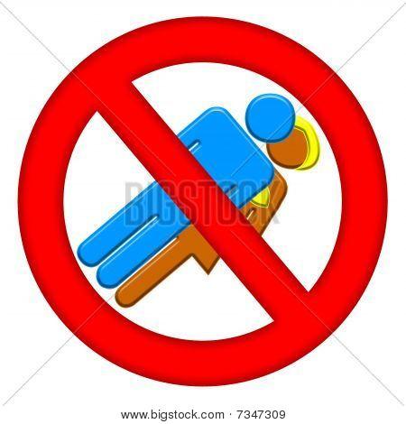 No Sex Area Sign