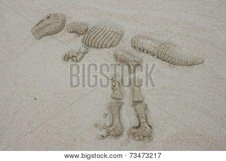 Sand Dinosaur