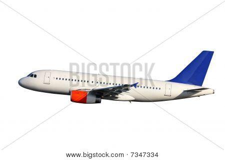 Vliegtuig Over White