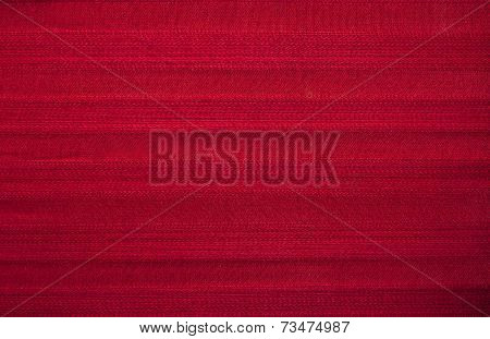 Red Striped Fabric