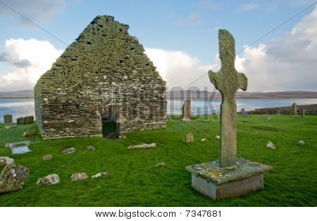 Kilnave Church And Cross