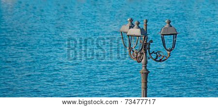Lamppost By The Sea