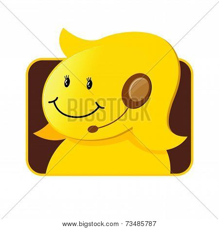 Customer Service Icon Female