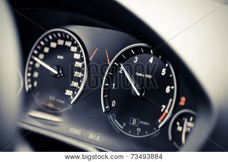 Car Dashboard Detail