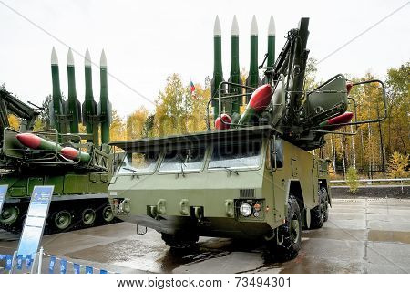 Bouck M2E surface-to-air missile systems