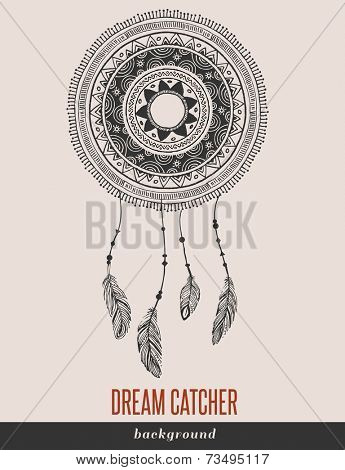 Dream Catcher, Boho, Ethnic, tribal backgound