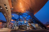 stock photo of welts  - BMW World in Munich - JPG