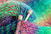 stock photo of knitwear  - close - JPG