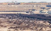 picture of open-pit mine  - Open pit - JPG