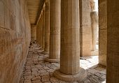 stock photo of hatshepsut  - The temple of Hatshepsut near Luxor in Egypt - JPG