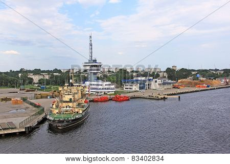 Freeport Of Riga, Latvia