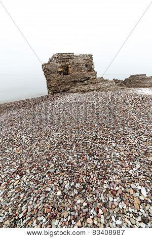 Pebble Stone Textured Beach