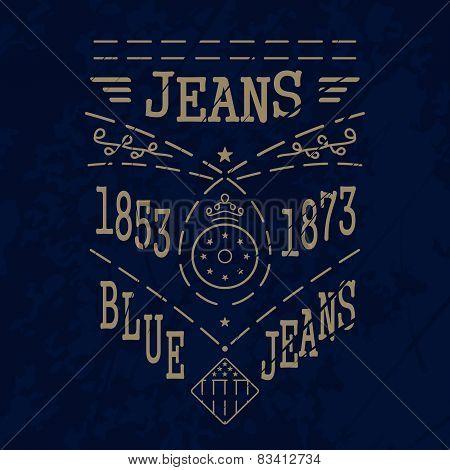 Blue Jeans Emblem