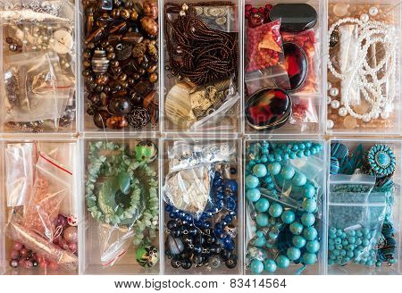 various craft Jewellery supplies