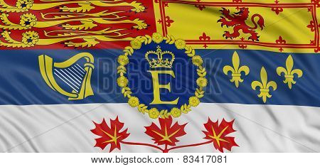 3D Canada royal standard Flag