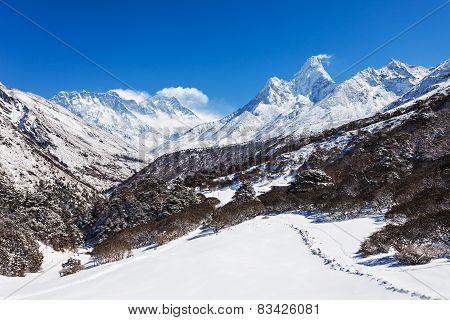 Ama Dablam, Himalaya