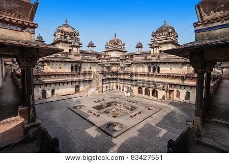 Jehangir Mahal (orchha Fort) In Orchha, India