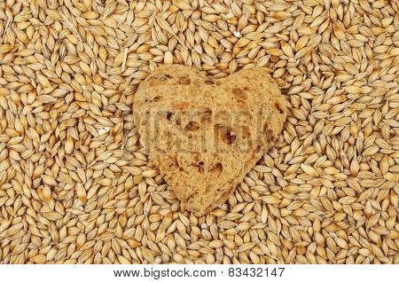 Bread Heart And Barley