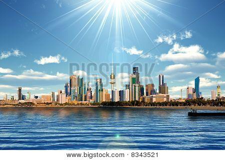 Kuwait Kuwait Skyline