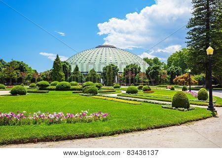 Jardins Palacio De Cristal