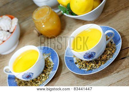 Chamomile tea - camomile tea