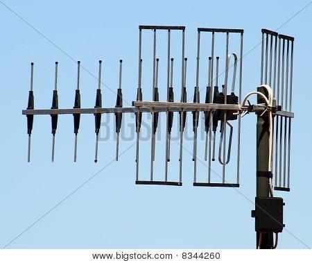 Antena de TV.