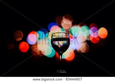 A Glass Reflection Boke