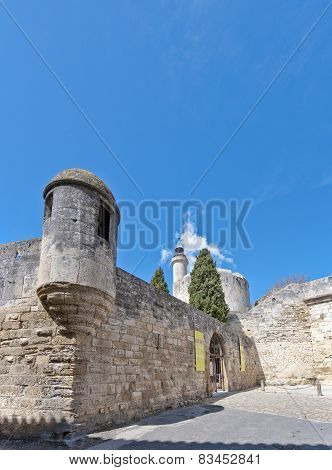 La Tour De Constance At Aigues Mortes, France
