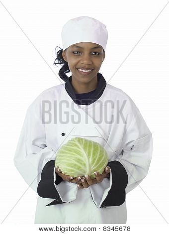 Chef And Cabbage
