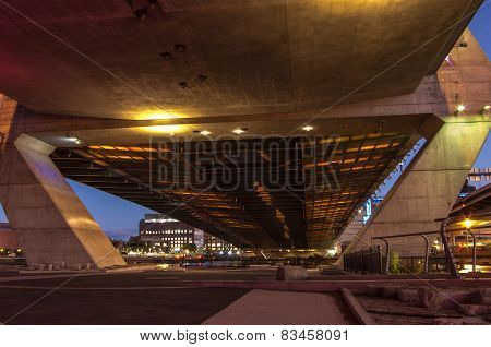 Zakim Bridge Belly