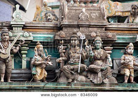 Indian Temple Sculptures