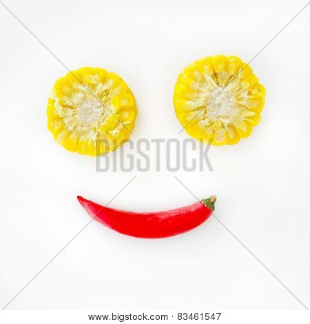 Cuties Corns And Smile Chilli