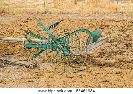 Antique Riding Plow
