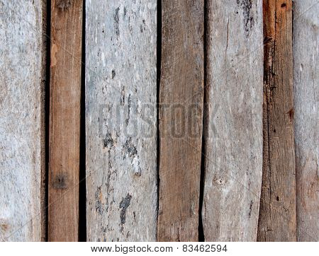 Wooden Planks Texture With Cracked