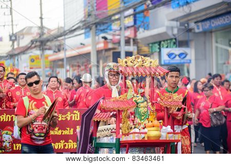 Chinese New Year And Chinese Dragon Parade