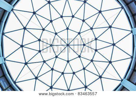 Structure Of Lattice Of A Dome Over White