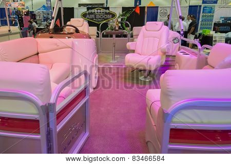 Boat Interior On Display