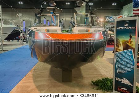 Nautique Boat On Display
