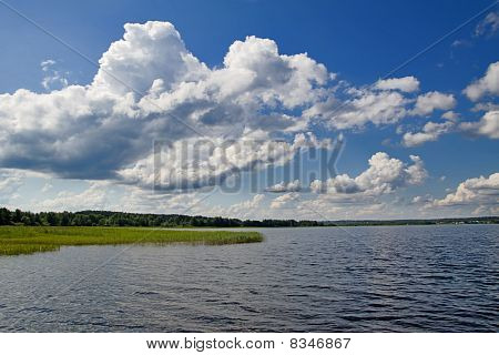 View of Lake Seliger. Russia