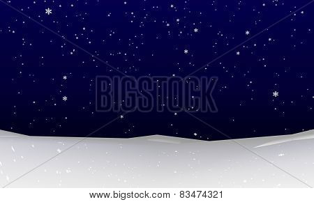 Snowfall Background