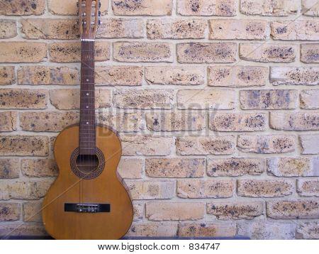 Resting Guitar